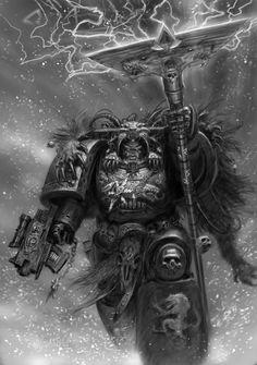 Rune Priest By Adrian Smith