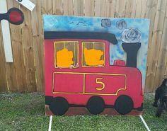 thomas train photo cutouts