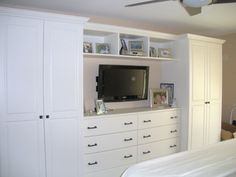 Master Bedroom Built-in, Germantown MD - Transitional - Bedroom - other metro - by Deborah Broockerd/Closet Factory
