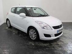 Used 2012 (12 reg) White Suzuki Swift 1.2 SZ3 3dr for sale on RAC Cars