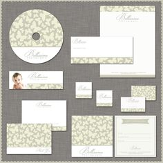 Photography Marketing and Branding Set Template Kit - Logo included  Mini Set. $25,00, via Etsy.