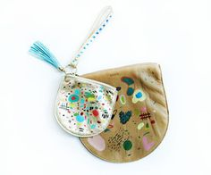 Hand Painted Leather Party Kit