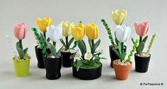 #crochet #tulip #hardmade #spring #flowers