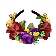 $4.23 (Buy here: https://alitems.com/g/1e8d114494ebda23ff8b16525dc3e8/?i=5&ulp=https%3A%2F%2Fwww.aliexpress.com%2Fitem%2F2016-Newest-Wedding-Headband-Kids-Party-purple-Floral-garlands-with-Ribbon-Adjustable-flower-crown-Rose-Flower%2F32615548861.html ) 2016 Newest Wedding Headband Kids Party purple Floral garlands with Ribbon Adjustable flower crown Rose Flower Wreath Retail for just $4.23