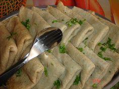 Reteta culinara Clatite cu vinete (de post) din categoria Aperitive. Cum sa faci Clatite cu vinete (de post)