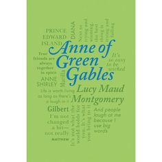 Anne of Green Gables (Word Cloud Classics): Lucy Maud Montgomery: book cover
