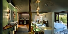 ngala tented camp - Google Search