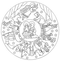 Mandalas a colorier : mandala-noel-chretien.jpg