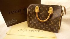 Louis Vuitton Speedy 25 Monogram Satchel. Save 40% on the Louis Vuitton Speedy 25 Monogram Satchel! This satchel is a top 10 member favorite on Tradesy. See how much you can save