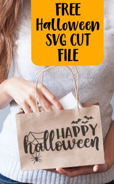 Free 'Happy Halloween' Spider Web Bat SVG Cut File - Cutting for Business Silhouette Cameo Free, Silhouette Cameo Projects, Silhouette Files, Silhouette Machine, Halloween Spider, Happy Halloween, Spider Costume, Halloween 2020, Halloween Vinyl