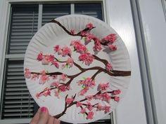 cherry blossom art: