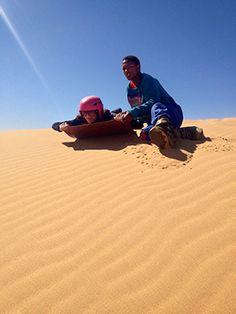 Sandboard_ Namib Desert