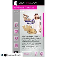 #Repost @katesfashioniq with @repostapp.  It's #CarlineCouture Wednesday! See what our stylist and fabulous #MomBlogger @localmomscoop has in store for your perfect Spring Break getaway! #KatesIQ
