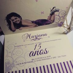 Convite 15 anos estilo classico