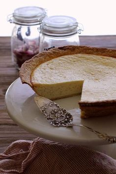 Italian rice ricotta easter pie