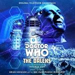 The Daleks by Tristram Cary Brian Hodgson & the BBC Radiophonic Workshop - CD cover