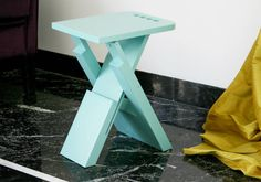 Sgabo Folding Stool by Alessandro Di Prisco