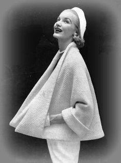 Knitting Cape Coat Vintage PDF Pattern Is not a by ToppyToppyKnits