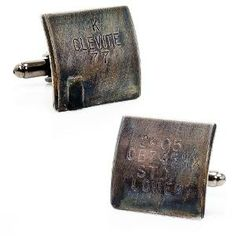 Vintage 1950-60-s Corvette Car Bearing Cufflinks | Find.com