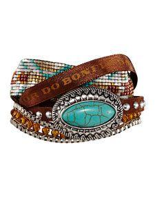 texas brown bracelet