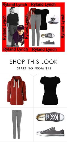 """""""Ryland Lynch inspired"""" by sophiamann ❤ liked on Polyvore featuring AX Paris, Jane Norman, Vince, Converse, NIKE, dark-wash jeans, hair bows, faux-leather pants, shift dresses and a-line dresses"""