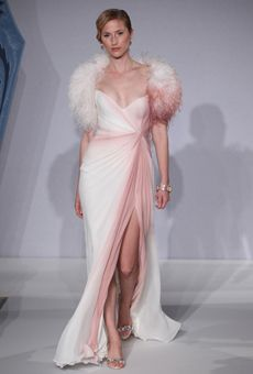 Spring 2013 #Wedding Dress Trends...Color.   Wedding Dresses   Brides.com : Brides