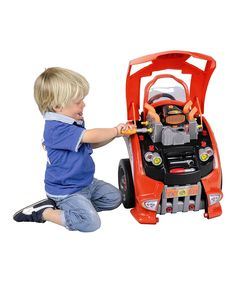 So cool... want this for my boys Look what I found on #zulily! Service Car Station Play Set by Klein #zulilyfinds