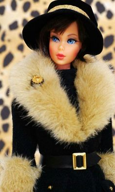 "Hair Fair Barbie wearing ""City Seasons: Winter in New York"" circa 1998 
