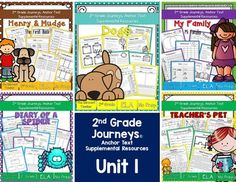 SAVE BIG by purchasing this bundle! This file contains 200+ pages of standards-based resources that are guaranteed to keep students engaged and learning! The best part is that these are NO PREP activities! It's everything you'll need to supplement your instruction with 2nd grade Journeys Reading Series.The packets can also be purchased separately:2nd Grade Journeys Henry and Mudge The First Book NO PREP Packet2nd Grade Journeys My Family NO PREP Packet2nd Grade Journeys Dogs NO PREP…