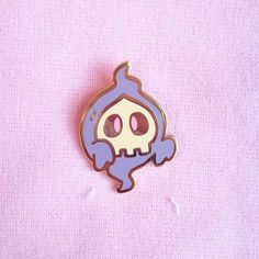 As a thank you, we are rolling out 2 bonus designs for more ghost Pokémon- this listing is for sweet floaty friend Duskull! Duskull is tall Hard enamel Butterfly pin back Ghost Pokemon, Pokemon Pins, Cute Pokemon, Ghost Type, Kawaii Tattoo, Pokemon Tattoo, Jacket Pins, Shirt Pins, Cool Pins