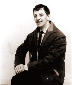 Four very early photos of Beatle Ringo, taken either just before or very shortly after he officially joined the Beatles, c. August Some sources say these photos were taken in the Merseybeat. Davy Jones, Abbey Road, Ringo Starr, George Harrison, Beatles Songs, The Beatles, Rare Pictures, Rare Photos, Rock Roll