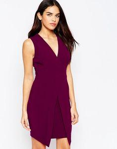 ASOS | Асимметричное платье без рукавов ASOS