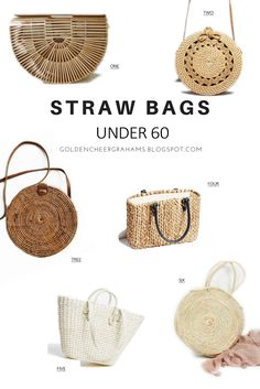 straw bag sac paille golden cheer grahams fashion style mode look shopping selection printemps ete spring summer 2017 basket trend tendance