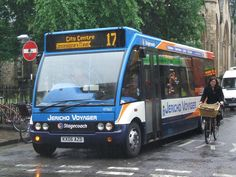 BUS PHOTO    :     .Stagecoach Oxford (Jericho Voyager)
