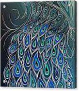 Peacock Tahi Acrylic Print