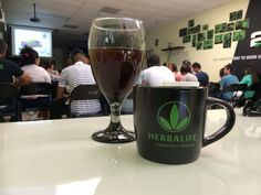 Herbalife concentrate tea for training