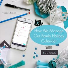 Trying to get your family organized? See how @curagoapp Calendar App Organizes Our Holidays. Check out how we keep up with family activities, parties, and events during our busy holidays. AD curagomom