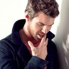 My huge crush right now is Daniel Gillies, I just love him...