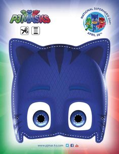 Masks Party Printables for FREE PJ Masks Party Printables Catboy Mask for FREE via Mandy's Party PrintablesPJ Masks Party Printables Catboy Mask for FREE via Mandy's Party Printables Pj Masks Printable, Party Printables, Mascaras Pj Masks, Pj Mask Party Decorations, Pj Masks Birthday Cake, Birthday Invitations, Pj Masks Coloring Pages, Pjmask Party, Pj Masks Costume