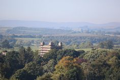 Appleby Castle view from Appleby Manor Country House Hotel at the 2015 Eden Tourism Summit Launch.  September 2015.