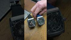 Watchesandart.com - Vault V1, a watch about time itself, watchvlog with ...