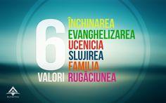 Cele 6 valori ale noastre