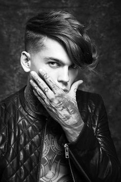 Stephen James for Kevin Luchman Hair Stephen James Model, James 3, Hot Guys Tattoos, Hommes Sexy, Hot Boys, Fitness Inspiration, My Hair, Beautiful Men, Supermodels