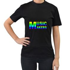 Music+Makers(vt)+Women's+T-shirt+(Black)