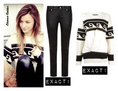 """Eleanor Calder"" by bpstealtheircloset ❤ liked on Polyvore featuring Yves Saint Laurent and Isabel Marant"