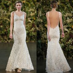 Nikki Reed Added Sleeves and a Boat Neck to Claire Pettibone's Elizabeth Dress When She Married Ian Somerhalder