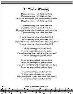 If You're Wearing Lyrics