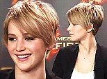 jennifer lawrence hair pixie | Jennifer Lawrence chops her locks into a pixie haircut after her hair ...