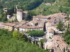 View from La Rocca in Asolo, Italy. Asolo is historically tied to Sarasota, Florida's two Asolo theaters and one of 95 communities twinned with Sarasota in a sister city relationship with Treviso Province, Italy