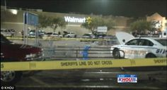 Walmart security guard shoots 'shoplifting' mother dead in parking lot as she tries to escape with two young children